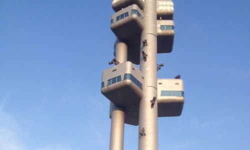 nomadic mick zizkov tower prague