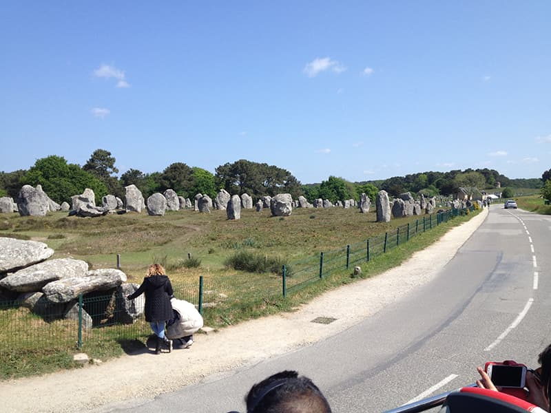 Alignments Carnac France