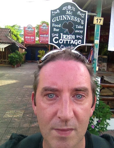 nomadic mick at mc guinness irish cottage bar sihanoukville cambodia